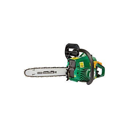 B&Q FPCSP38 37.2 cc Cordless Petrol Chainsaw   Departments