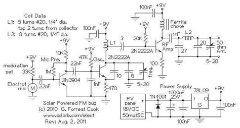 micro power fm broadcasting circuits fm transmitter circuits 580 next gr