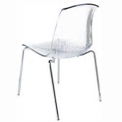 chaise en plexi chaise design en plexi transparent allegra 4 pieds