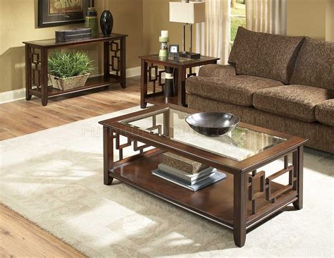 Move coffee table by up huppe tables living room 46 image of contemporary coffee tables that will inspire you with ideas stunning photos decoratorist. Cherry Finish Modern Coffee Table w/Glass Insert Top