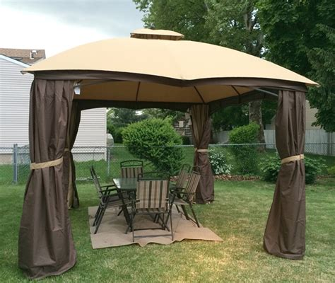 allen roth gazebo curtains gazebo for small backyard