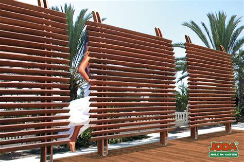 Garten Sichtschutz Holz Lamellen by Sichtschutz Dubai Eukalyptus Prestige 120 180 Cm 160
