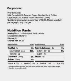 I usually put in two teaspoons into 8oz of hot water. Nescafe: Nutrition Facts