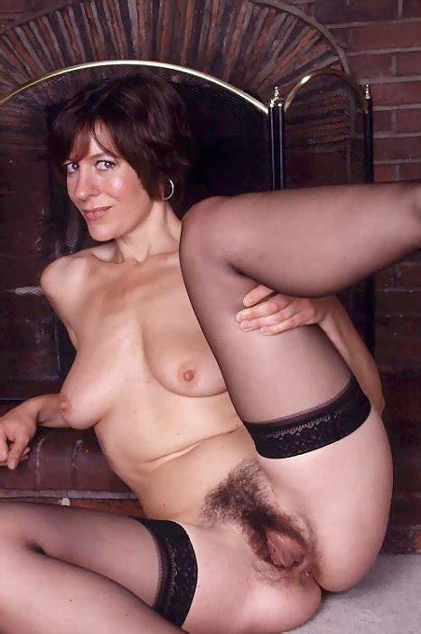 Miss Jones Mature Pussy Spread