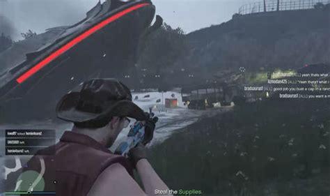 Gta 5 Online Alien Mystery Finally Solved? Gunrunning