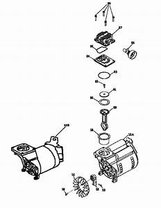 Compressor Pump Diagram  U0026 Parts List For Model 919165220