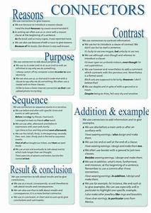 How To Write Cause Effect Essay English Connectors For Essays