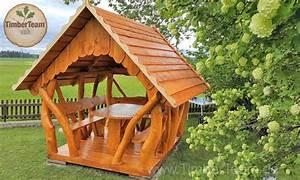 Pavillon Dach Selber Bauen : gartenlaube pavillon aus holz 200x250 kaufen timberteam holzbauten ~ Watch28wear.com Haus und Dekorationen