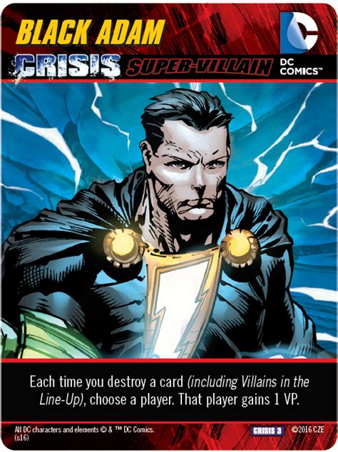 dc comics deck building crisis expansion 3 preview cryptozoic entertainment