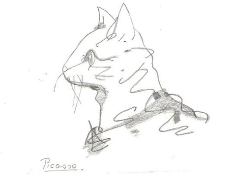 Picasso's Cat By Fairytalenorge On Deviantart