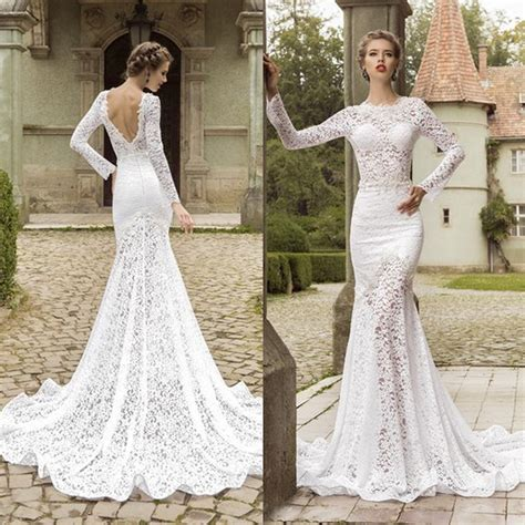 long sleeve wedding dresses   fall  love