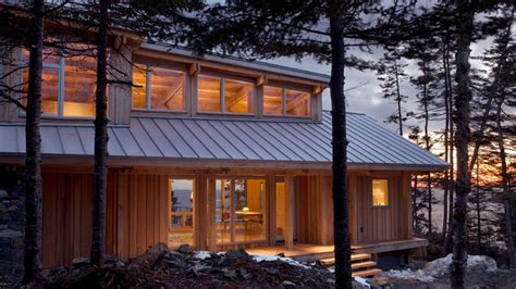 Whitten Architects  England Home  Maine Cottage