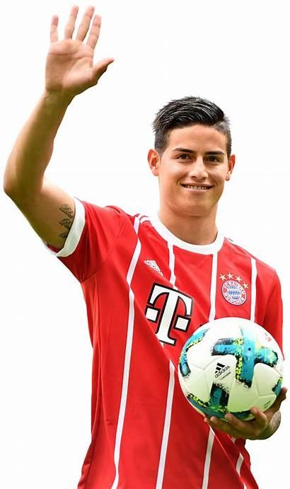 James Rodriguez Render Bayern Munich Footyrenders
