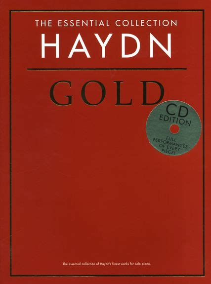 Haydn  Gold • The Essential Collection • Piano Klavier