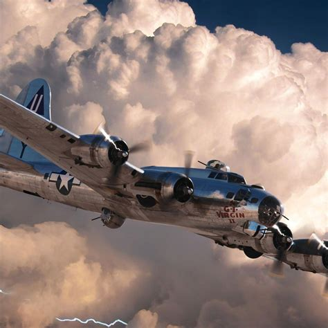 We have 86+ amazing background pictures carefully picked by our community. 48 Boeing B-17 Plane Flying in the white clouds