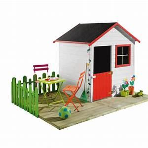 Maison Enfant Castorama : maisonnette cabane enfant achat vente maisonnette et ~ Premium-room.com Idées de Décoration