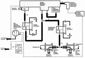 Vacuum Line Diagram 1995 Ford Taurus