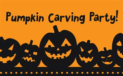 Mother's Cafe | Pumpkin Carving Party