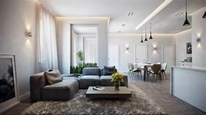 Décoration Intérieure Salon : d coration int rieure d 39 un appartement chic inspiration d 39 allemagne ~ Teatrodelosmanantiales.com Idées de Décoration