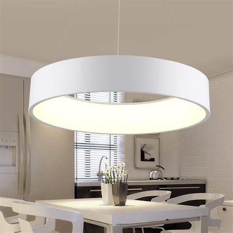 modern pendant lighting for kitchen minimalist hanging l modern circle led pendant 9255