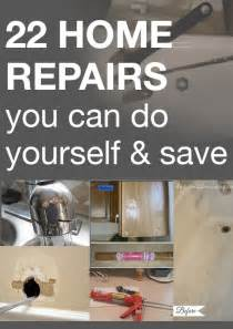 You Can Do Yourself Home Repairs