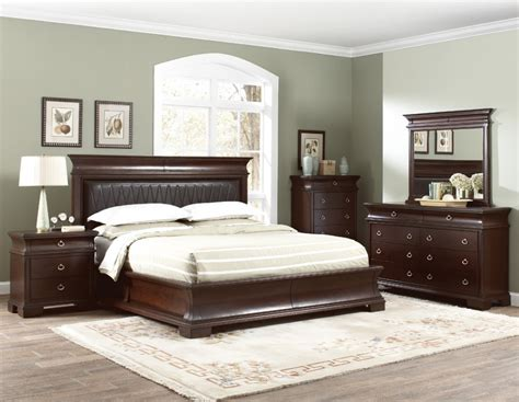 cal king bedroom sets king size bedroom sets 5pc carson 1394 set