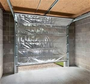 comment isoler son garage porte et murs habitatpresto With porte de garage enroulable de plus porte intérieure isolante