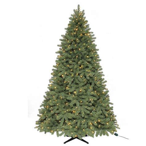 home depot live christmas trees for sale martha stewart ornaments decor 7 5 ft pre lit led d