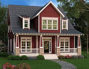 Sturdy Craftsman House Plam - 75522GB | Architectural ...