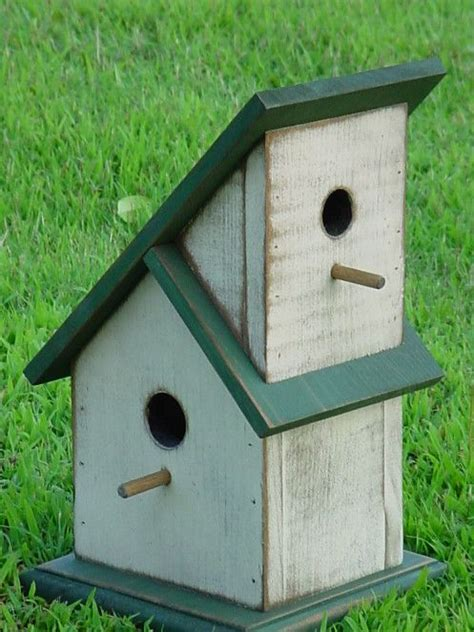 wooden creations wc  townhouse birdhouse wood craft