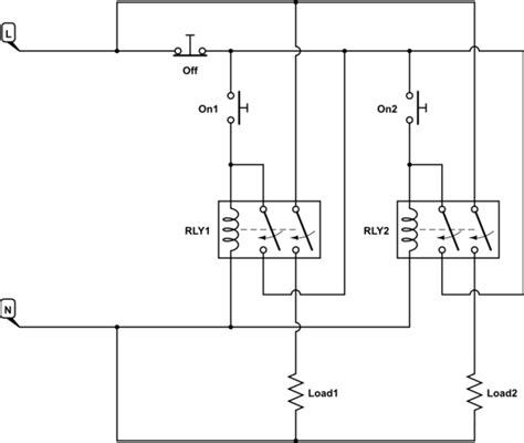 switches on off on soft latch transistor switch