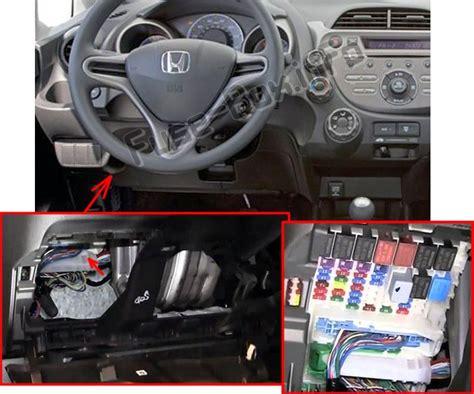 2009 Honda Fit Fuse Box by Honda Fit Ge 2009 2014
