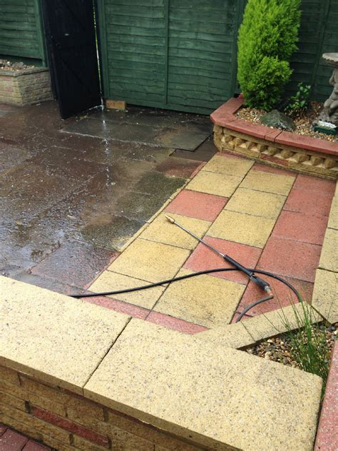 driveway patio cleaning pressure jet washing services