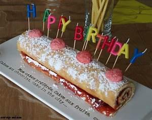 Decor Gateau Anniversaire : decoration gateau roule anniversaire ~ Melissatoandfro.com Idées de Décoration
