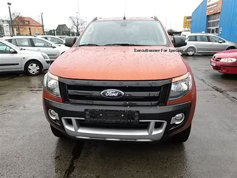 ford ranger wildtrak 2012 2012 ford ranger autm wildtrak 8x frosted car photo and specs