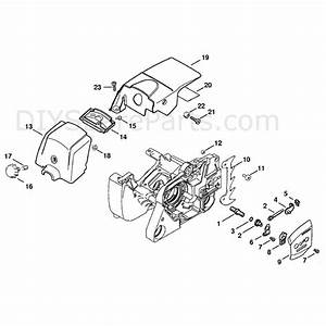 Stihl Ms 380 Chainsaw  Ms380  Parts Diagram  Chain Tensioner