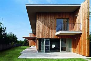 Contemporary Wooden House Design-larix - The Great Inspiration For Your Building Design