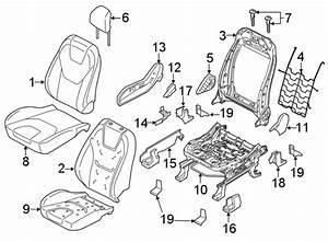 2015 Ford Edge Bracket  Seat   Front  Lower