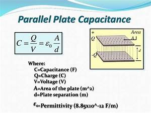 What Is The Factor Affecting The Capacitance Of A Capacitor