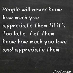 Appreciation quotes and sayings cute people positive ...