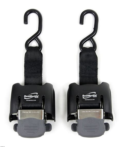 Boat Trailer Straps by Boatbuckle G2 Retractable Ratcheting Transom Tie