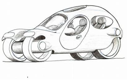 Futuristic Drawing Cars Vehicles Disney