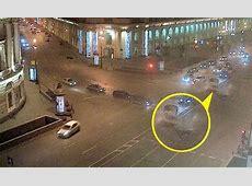 Shocking video footage captured a highspeed car crash