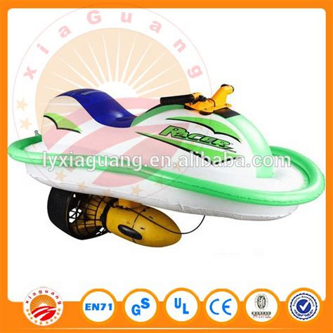Inflatable Electric Water Scooter by Kids Electronic Scooter Inflatable Water Boat Electric