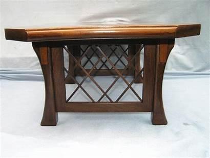 Birch Altar Burl Walnut Maple Mixed Table