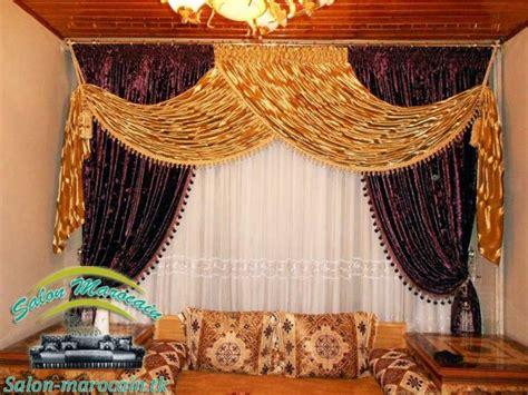 rideau salon marocain impressionnant top salons morocain