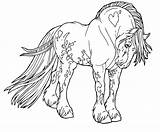 Coloring Horse Pages Draft Shire Flower Unicorn Printable Print Popular Getcolorings Getdrawings sketch template