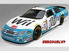 Nintendo sponsors Nascar with Wii plastered on the #16 car