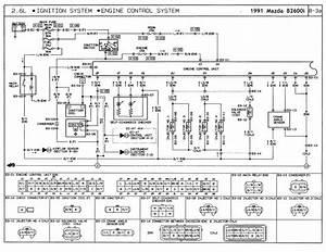 Distributor Wiring 1991 B2600i