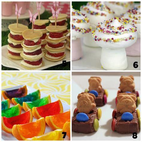 food suggestions party food ideas kidspartiesblog